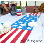 DIY Patriotic Table Runner