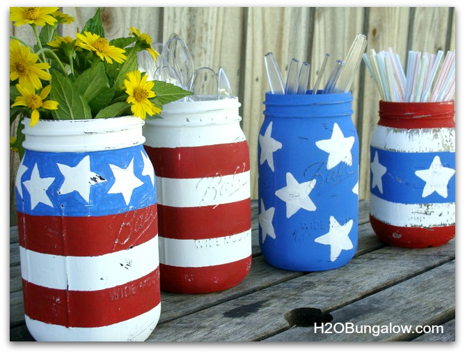 Patriotic-Mason-Jar-DIY-Decorations-H2OBungalow