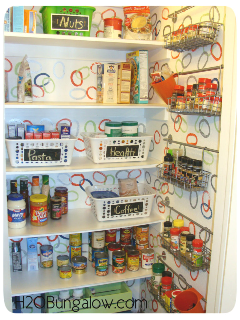 full makeover pantry view