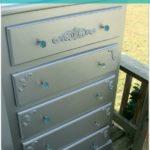 Silver Glam Dresser Makeover & A Promise Kept