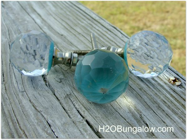 glass knobs on glam dresser make a statement H2OBungalow