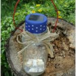 Patriotic Outdoor Solar Light