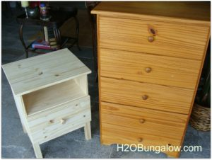 tween furniture before refinishing