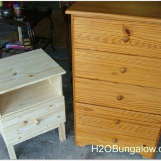 tween furniture before refinishing