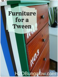Furniture for a tween