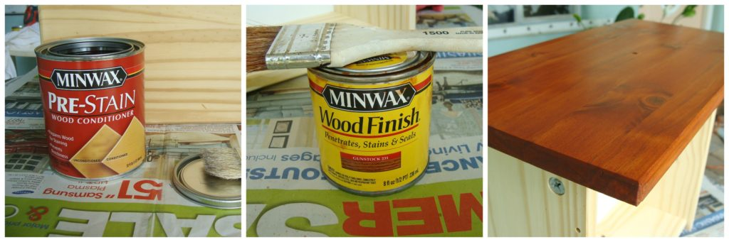 Products to stain the tween drawers