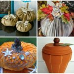 abstract creative pumpkin decorating ideas