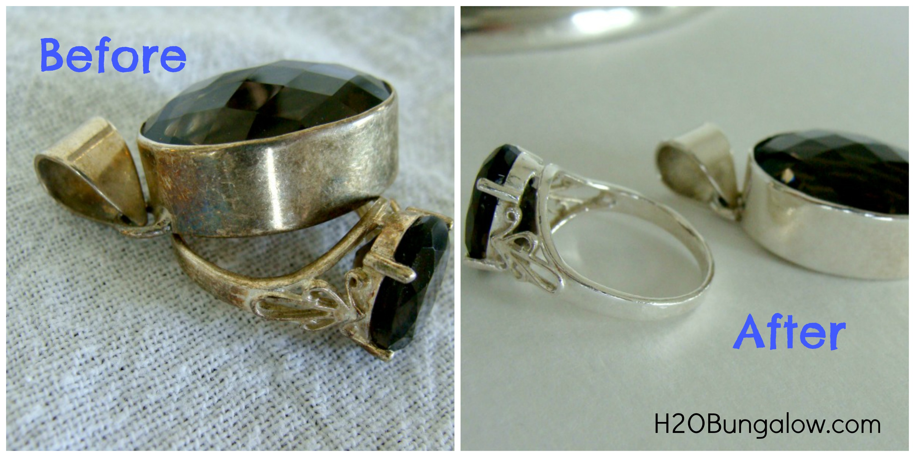 Cleaning Tarnished Silver Rings