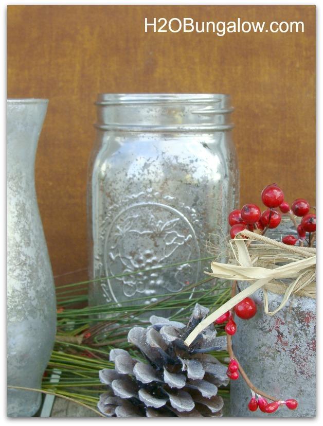 picture of Krylon looking Glass mercury vase