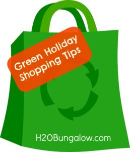 Green Holiday Shopping Tips