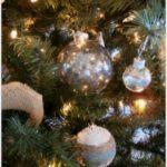 DIY Mercury Glass Christmas Tree Ornament