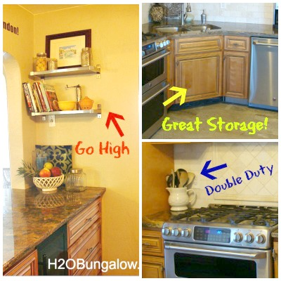 Best Tips On How To Organize A Small Kitchen And Get More Space With The  Room