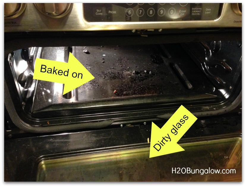 how to clean your oven using baking soda &