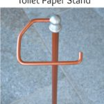 DIY Copper Toilet Paper Holder