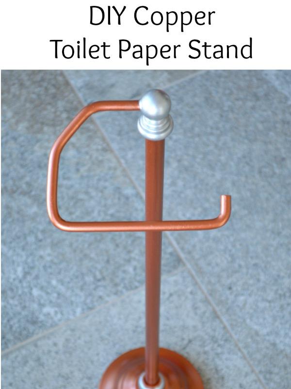 Diy Copper Toilet Paper Holder H20bungalow