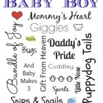 Baby Boy Subway Art Printable And Easy New Mommy Recipes