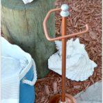 DIY Copper Toilet Paper Holder