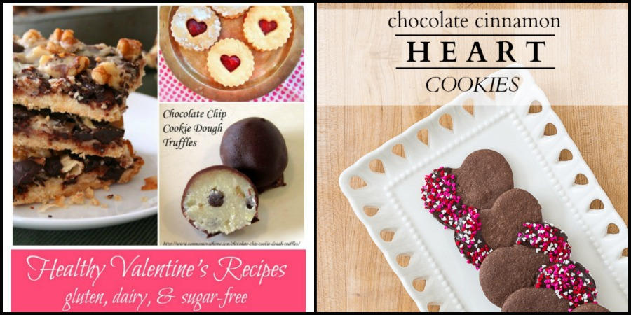 Valentines Day sweets recipes healthy, dairy and gluten free