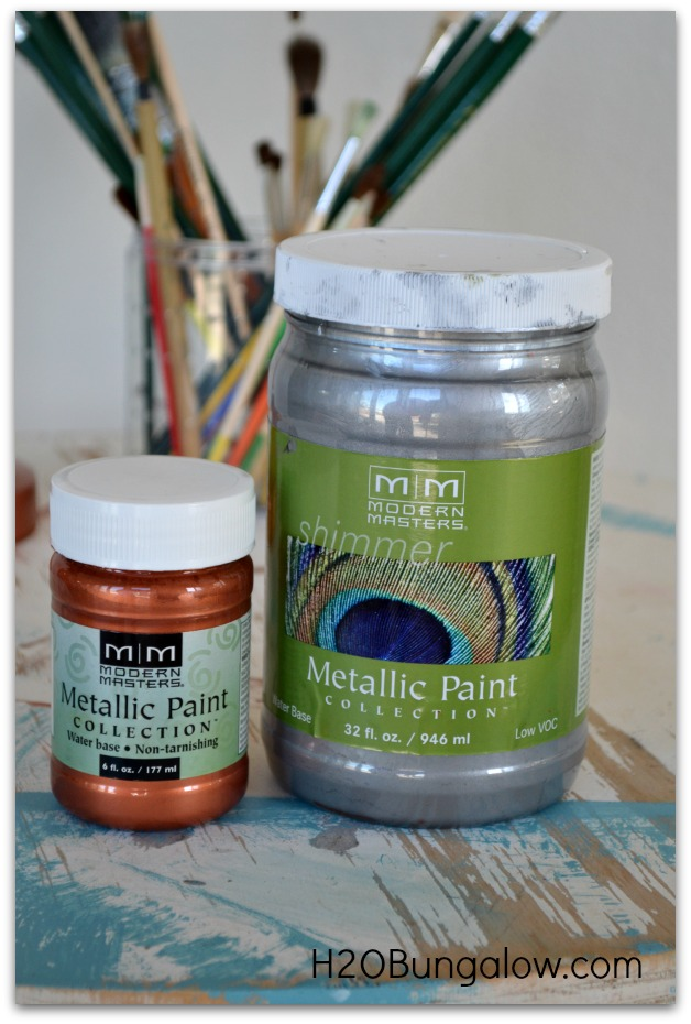 Modern Master Metallic Paints