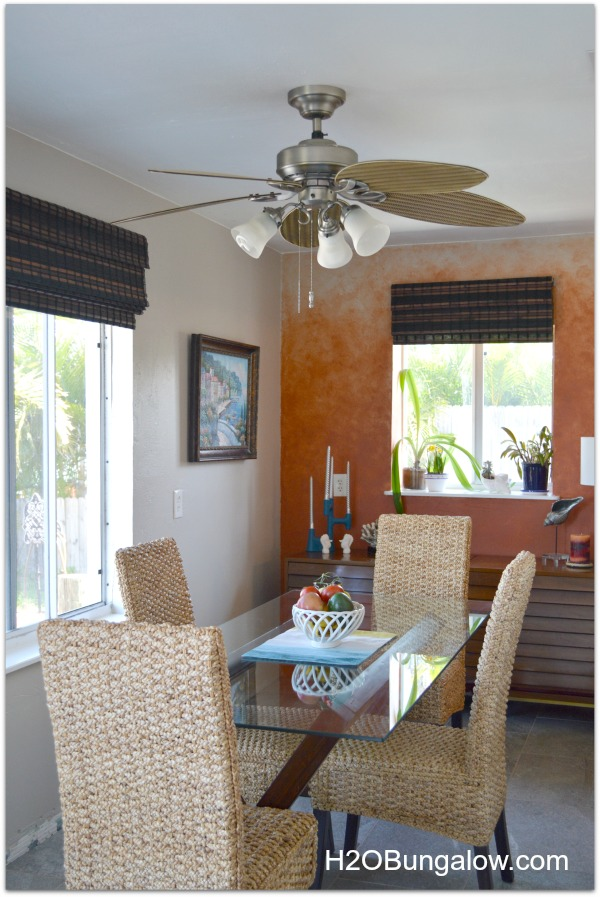 decorating a dining room in a small house