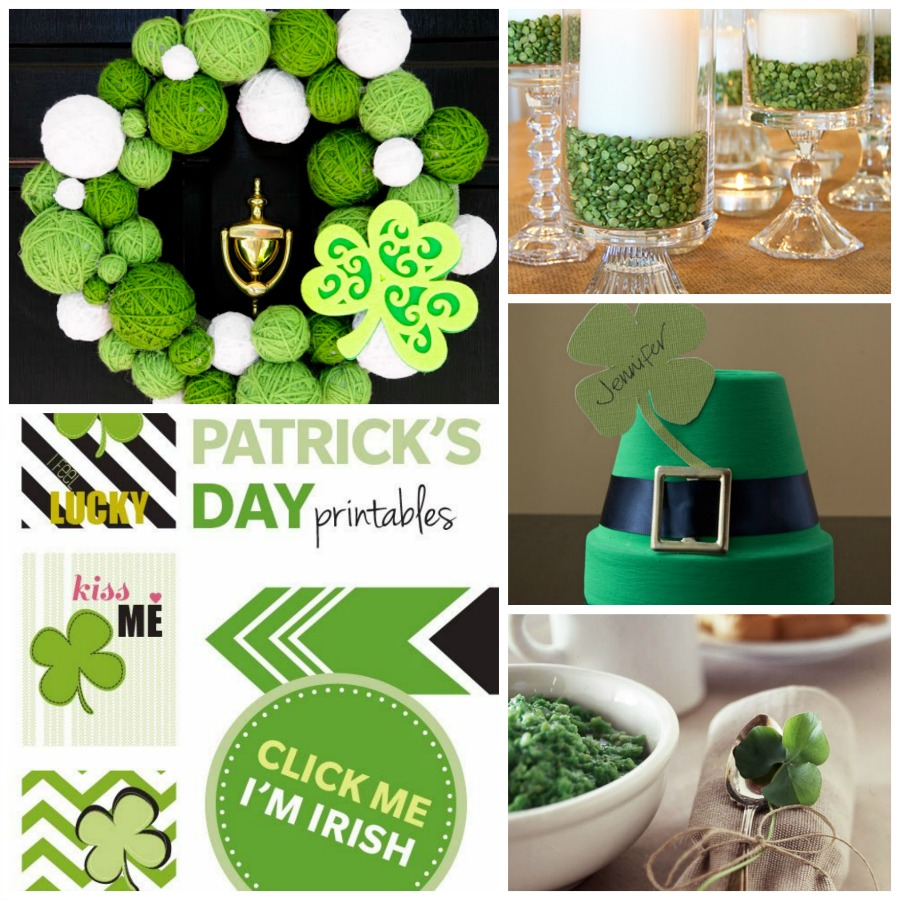St Patricks Day Home Decor Ideas