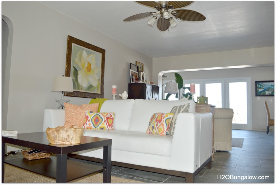 furniture placement in decorating a small house
