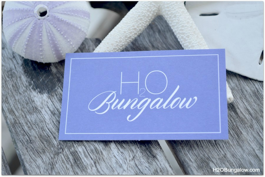 H2OBungalow-business-cards-for-bloggers