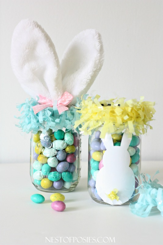 Easy easter hostess gift ideas h20bungalow mason jar easter treats negle Images