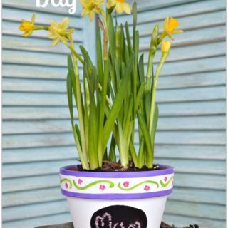 Mothers Day keepskae planter is a lovely gift to make that can be charished and used all year long H2OBungalow