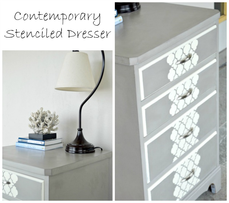 contemporary-stenciled-dresser-H2OBungalow