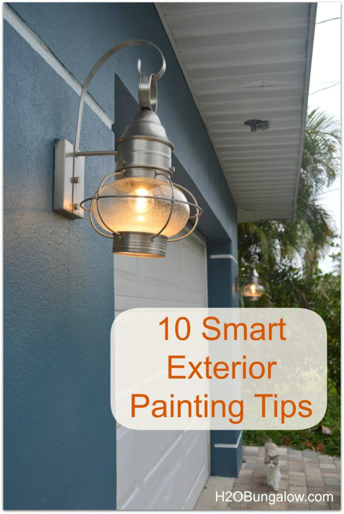 10 smart exterior painting tips for Exterior mural painting techniques