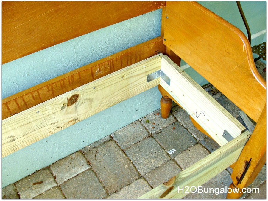 Diy Headboard Bench Instructions H2obungalow
