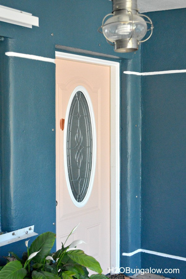 Paint-Front-Door-Copper-Before-H2OBungalow