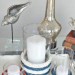 Nautical Rope Candle Holders
