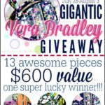 Gigantic Vera Bradley Giveaway