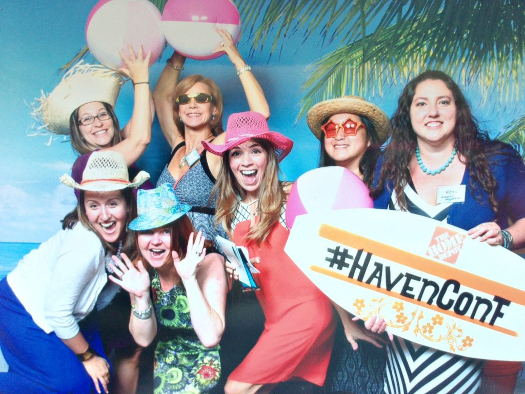 Fun with Centarl Fl Blogging Group at Haven Conference H2OBungalow