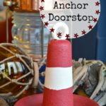 Easy DIY Vintage Anchor Doorstop