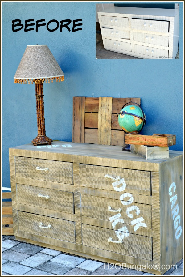 Diy How To Faux Paint Cargo Style Pier