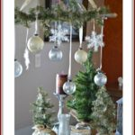 Silver And Gold Mercury Glass Christmas Decorations {Ballard Designs Inspired}