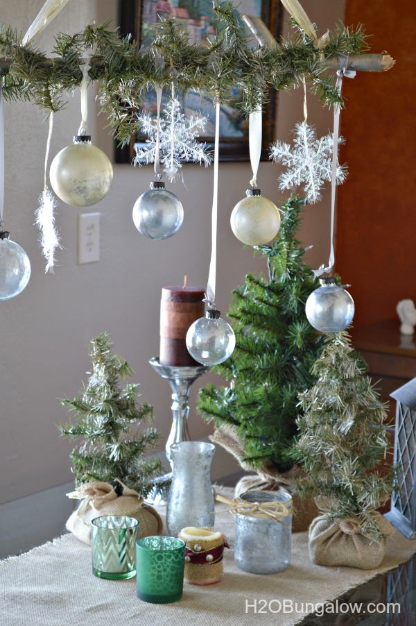 Ballard Inspired Gold And Silver Christmas Decorations H2OBungalow
