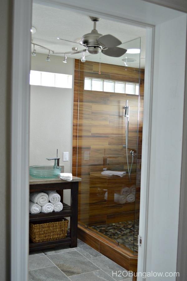 Contemporary small master bath renovation for Master bath renovation