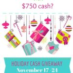 $750 Holiday Cash Giveaway