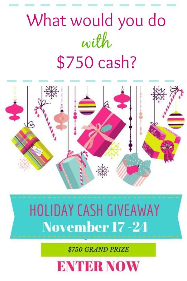Header for cash giveaway