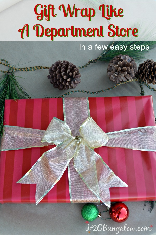 Gift-wrap-like-department-store-in-a-few-easy-steps-H2OBungalow
