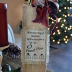 DIY Twelve Days of Christmas Personalized Gift Bag