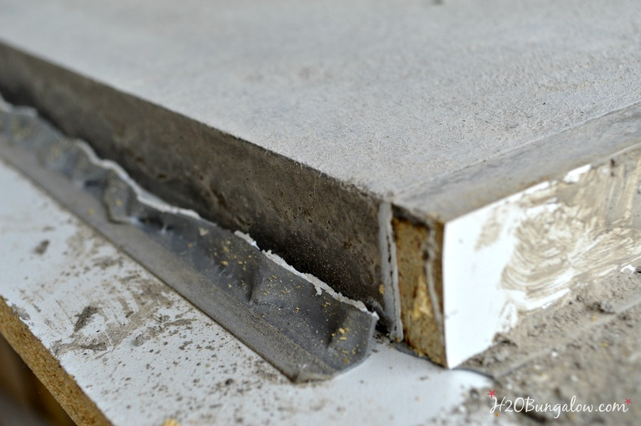 Remove form for Concrete Countertop