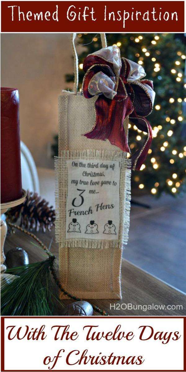 12 days christmas themed gift ideas