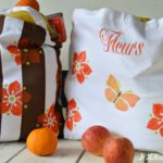Parisian Reuseable Washable DIY Grocery Bags