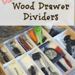 Easy DIY Wood Drawer Dividers