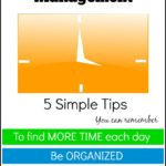 5 Simple Tips For Time Management
